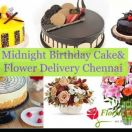 Midnight Cake Delivery in Chennai - Florist Chennai