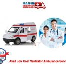 Avail Ambulance Service in Saket with Alpha Bed Facility