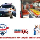 Get Brand New Emergency Ambulance Service in Mayur Vihar Low Fare
