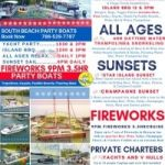 Forth of July 4th Weekend Boat Party