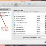 How To Disable Flash On MAC?