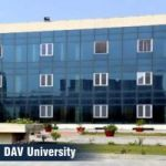 DAV University Engineering courses