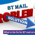 What is the fix for BT mail error code 10007?