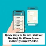 AOL Mail Not Working On iPhone? How to fix it? Call@+1(866)257-5356