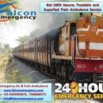 Use Falcon Emergency ICU Train Ambulance Service in Mumbai for Patient Transfer