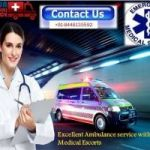 Pick Extensive Ambulance Service in Purulia Road with Advanced Medication