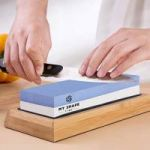 What is a knife sharpening stone we called?