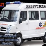 Get 24 Hrs Helpful Medilift ICU Ambulance in Ranchi with Expert Medical Team