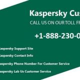 Get Help by Calling the Kaspersky Support | +1-888-230-999
