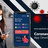 Launch a cutting-edge Coronavirus tracker app in the market