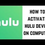 How to activate hulu?
