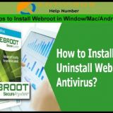 How to download and install webroot antivirus?