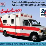 Best and Inexpensive Ambulance Service in Kumhrar by King