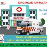 King Ambulance Service in Nayatoli is the Best Patient Transfer Way