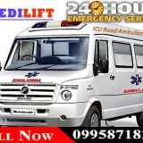 Get Medilift Road Ambulance in Jamshedpur with Emergency Facility