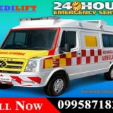 Use ICU Road Ambulance in Hazaribagh for Serious Patient Transfer