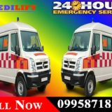 Get Medilift Road Ambulance in Ranchi at Low Budget for Best Medical Services