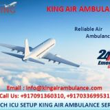 Get Air Ambulance in Delhi with More Advantage by King