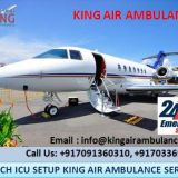 Very Easy Process to Book King Air Ambulance Service in Guwahati