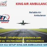 Pick Best and Quick Air Ambulance in Bangalore by King
