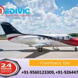 Pick World-Class Health Solution by Medivic Air Ambulance in Varanasi