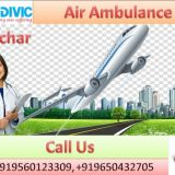 Hire Life Sustaining Medivic Aviation Air Ambulance Service in Silchar