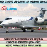 Hire Superfine Air Ambulance Service in Kochi at Much Rebeted Price