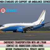 Utilize Nonparallel Emergency Air Ambulance Service in Kolkata by Medivic