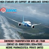 Pick Full Advanced Charter Air Ambulance Service in Kozhikode by Medivic