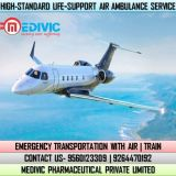 Gain the Most Esteemed Air Ambulance Service in Lucknow by Medivic