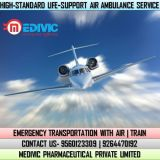 Avail Top-Model Charter Air Ambulance in Gorakhpur at Low-Price
