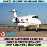 Utilize the Most Effectual Air Ambulance Service in Gorakhpur by Medivic