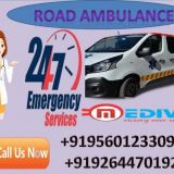 Book Affordable Road Ambulance Service in Patna by Medivic with MD Doctor Support