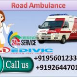 Top Class Medivic Road Ambulance   Service in Ranchi at Reasonable Cost with Medical Team