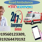 Get Top Class Road Ambulance Service in Muzaffarpur by Medivic Ambulance with Medical Team