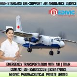 Avail the Best Emergency Air Ambulance Service in Delhi for Needy