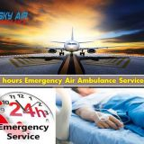 Obtain Sky Air Ambulance Service in Gaya with well Qualified Physician