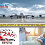 Deluxe Emergency Air Ambulance Service in Baramati at Minimum Rate