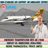 Take Prime Medical Support by Medivic Air Ambulance Service in Bhubaneswar