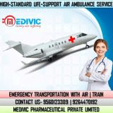 Use Superlative Charter Air Ambulance Services in Guwahati by Medivic