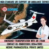 Obtain Paramount Air Ambulance Services in Jamshedpur by Medivic