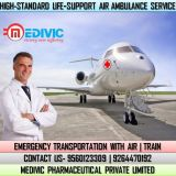 Receive Top-Rated Exigency Air Ambulance Service in Lucknow by Medivic