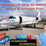 Medivic Aviation Air Ambulance services in Imphal at Low Fare