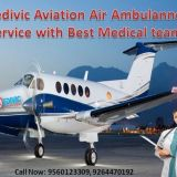 Medivic Aviation Air Ambulance Service in Hyderabad with ICU Setup
