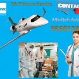 Medivic Aviation Air Ambulance in Hubli with Expert Medical Team