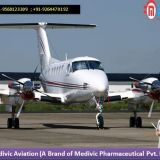 Get Low Fare Medivic Air Ambulance Service in Hosur