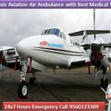 Medical Air Ambulance in Mumbai-Medivic Air Ambulance from Mumbai