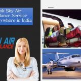 Received World-class Health Care facility in Air Ambulance from Darbhanga to Delhi