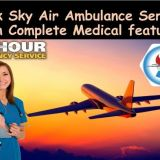 Use High-tech Medical Support Service Air Ambulance from Ahmedabad to Delhi