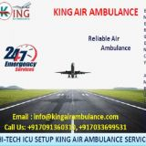 Foremost ICU Air Ambulance Services in Mumbai by King